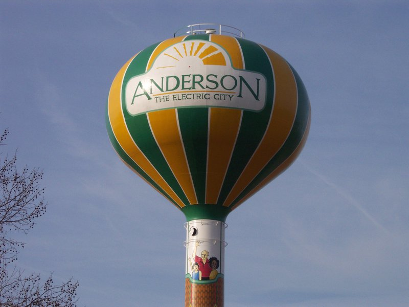 Anderson Water Tank in Anderson, S.C.